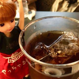 アイスコーヒー(湖月堂 喫茶去)