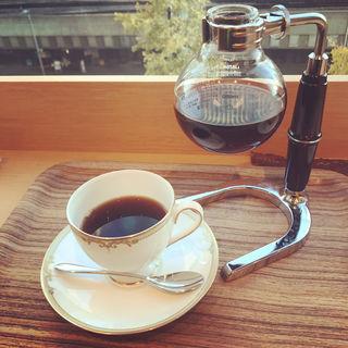 サイフォンコーヒー(Cafe 1869 by MARUZEN)