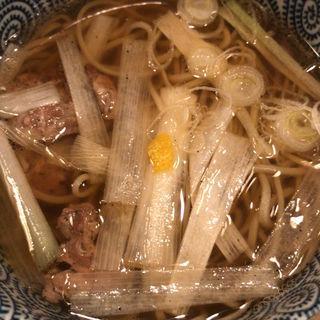 鴨南蛮蕎麦(信州そば むら田)