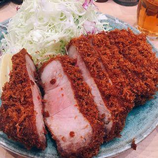 特製リブロースカツ定食(檍 (あおき))
