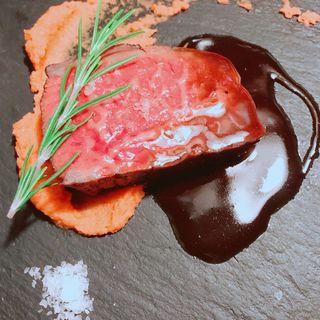 牛フィレ肉のステーキ(ラ ランテルナ ディ ジェノバ (LA LANTERNA di Genova))