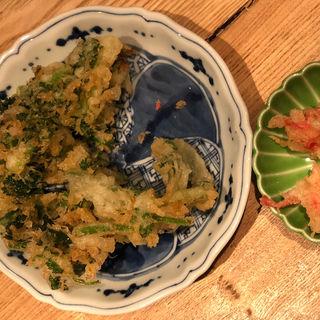 パクチーかき揚げ(喜久や 恵比寿店(kikuya))