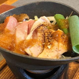 炙り鶏モモステーキ