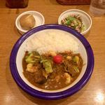 エビ+野菜カリー(エチオピアカリーキッチン 御茶ノ水ソラシティ店 )