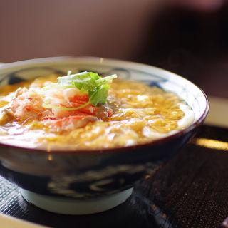 かに玉あんかけ大(丸亀製麺 飾西店 )