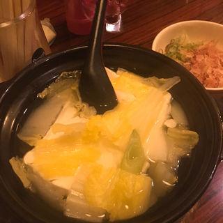 湯豆腐(居酒屋釧路 )