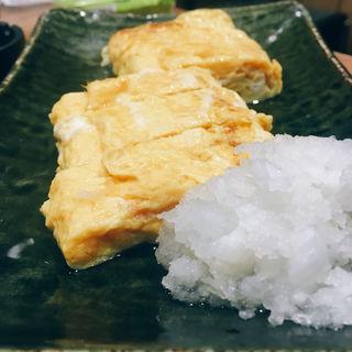 出汁巻き玉子(おうどん とろとろ房 渋谷店 )