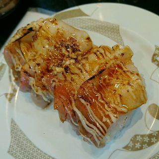 炙りホッキ(回転寿し 旬楽 柳町店 (しゅんらく))