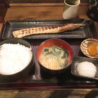 サーモンハラス干し定食(竹千代 )