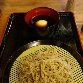 恵み蕎麦 小盛り(ネギ汁)(京橋 恵み屋 (きょうばしめぐみや))