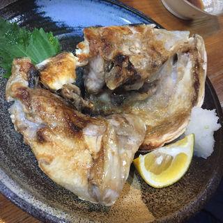 ブリカマの塩焼き(居酒屋 ゆうき)