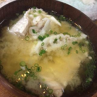 味噌汁(居酒屋 ゆうき)