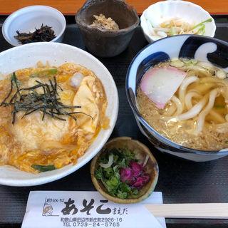 大和路丼 一品3品と麺もついた丼セット