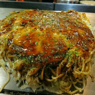 お好み焼き(そば・肉・玉子)海鮮ミックス(八昌 談 )