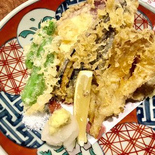 野菜天麩羅盛り合わせ(寿司 高瀬 )
