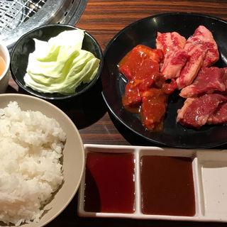 赤身定食(焼肉五苑 千日前店 (ゴエン))