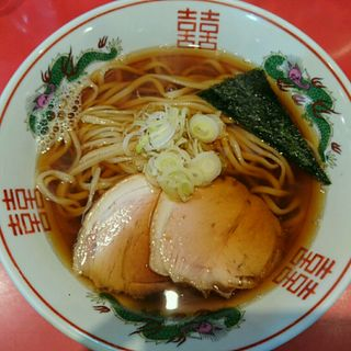 焼き干し醤油そば(はるゆたかVer.)(カドヤ食堂 本店 (かどやしょくどう))