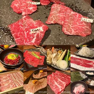 本日の焼きしゃぶコース(肉たらし 錦糸町店)