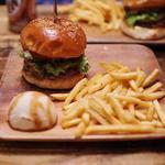 ハンバーガー+ハラペーニョ ポテトセット