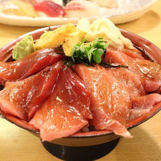 中トロ鉄火丼(魚河岸 丸天 魚河岸店 (うおがし まるてん))