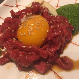 ユッケ風ローストビーフ(西光園 岸田堂店 )