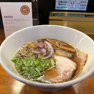 魚介鶏醤油(醤油と貝と麺 そして人と夢 )
