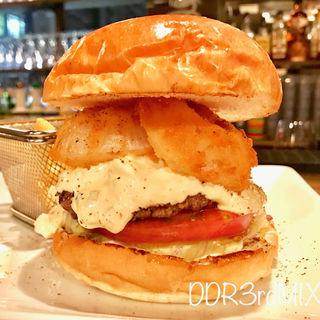 ペッパーコーン タルタルトッピング(シェイクツリー バーガー&バー (shake tree burger&bar))