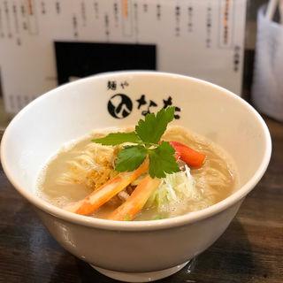 カニ白湯らーめん(麺や ひなた)