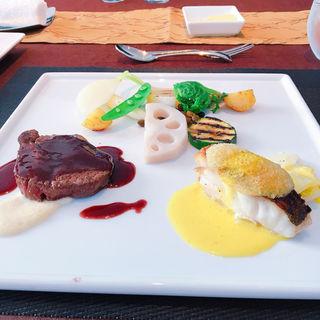 ミニ鮮魚料理とミニ牛フィレ肉の盛り合わせ(ビストロ・ヨシムラ )