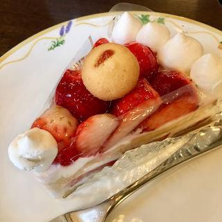 苺のショートケーキ(カフェ フロインドリーブ 本店 (Cafe FREUNDLIEB))
