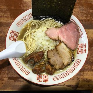 カキ煮干し(麺や而今 (じこん))