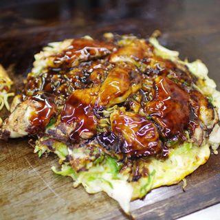 カキオコ 牡蠣増量(お好み焼き ほり )