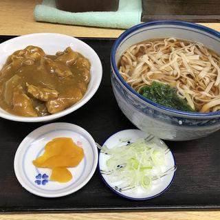 カレー丼セット(そば処 丸富)
