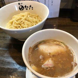 にごり醤油つけ麺 小盛(麺や ひなた)