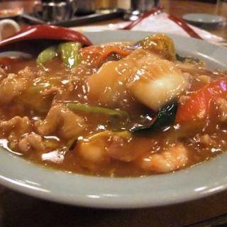中華丼(南海飯店ハイハイ店)
