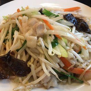 野菜炒め定食(知味軒)