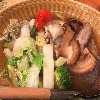 冬野菜おでんの盛り合わせ(花うた)
