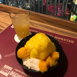 マンゴーかき氷(ICE MONSTER グランフロント大阪 )