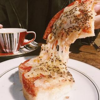 ピザトースト(うてな喫茶店 (ウテナキッサテン))