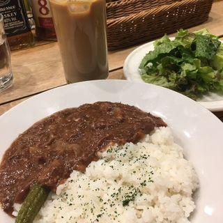熟成牛の牛すじトマト煮込ライス(Banks cafe & dining 渋谷 (バンクスカフェアンドダイニング))