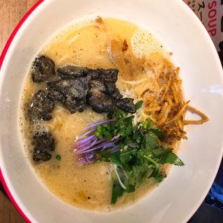 炭火鶏x白湯ラーメン(海老鶏麺蔵 )