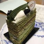 西尾抹茶のケーキ