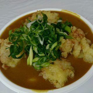鶏天カレーうどん(とんど祭りVer.)(極楽うどん TKU (ティーケーユー))