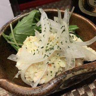 燻製のポテサラ(日本酒バル 琥珀 )
