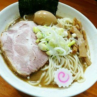 らーめん(特盛・煮玉子)(麺 まる井 (めん まるい))