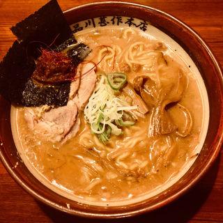 甚作にんにく辛味噌ラーメン(品川甚作本店 )