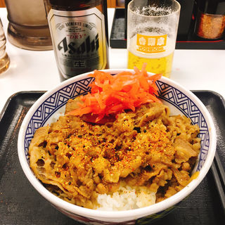 牛丼並(吉野家 福島店 )