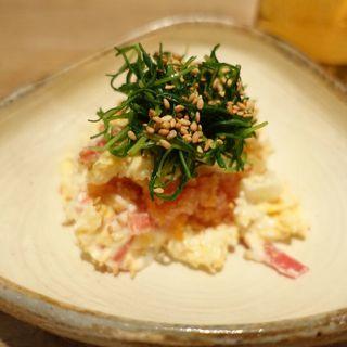 柚子明太ポテトサラダ(うどん山長)