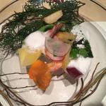 農園からの無農薬野菜(庭 〜Garden of four seasons〜)
