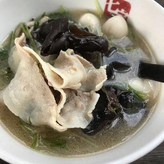 スープ春雨 0番(七宝 麻辣湯 赤坂店 (チーパオ マーラータン))